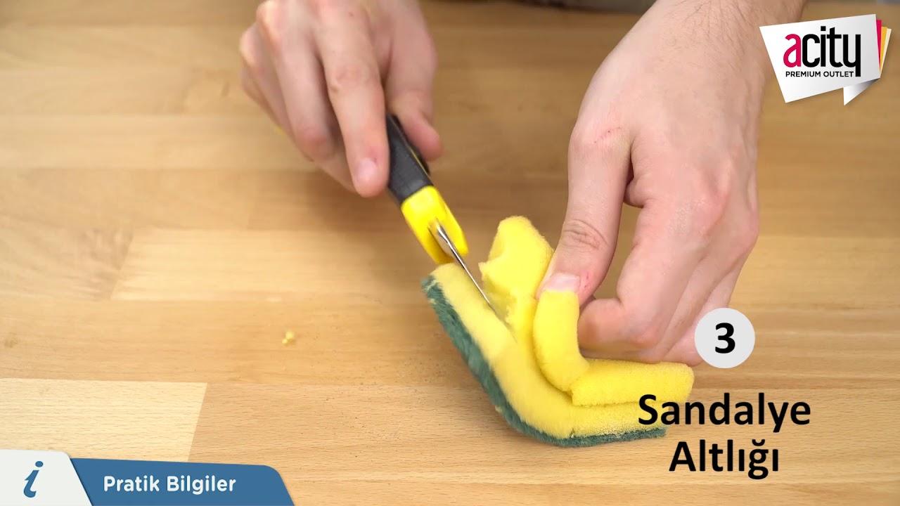 Bulaşık süngeri nasıl yapılır