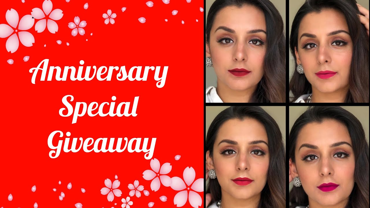 Anniversary Special Giveaway | SUGAR Cosmetics