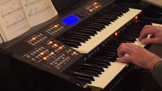 Till there was You.   Cover played on Orla Ringway RS 620 Organ.