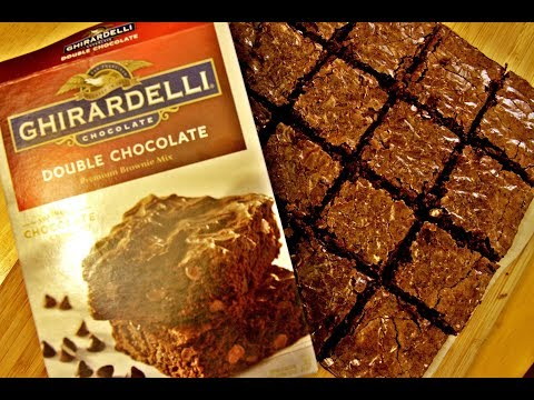 Ghirardelli Double Chocolate Premium Brownie Mix