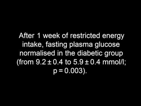 Reversal of type 2 diabetes:  Normalisation of beta cell function in association