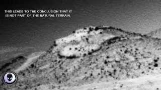 ALIEN SAUCER FOUND IN NEW MARS ROVER IMAGE - UFO COVERUP 2014
