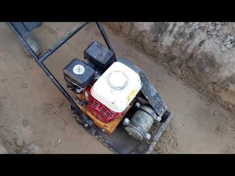 Виброплита Сплинстоун VS244 Уплотнение песка