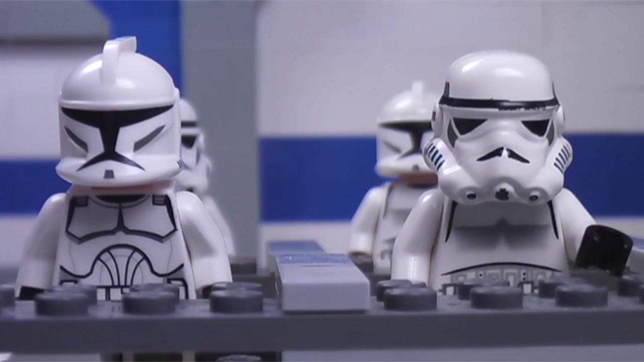 Lego star wars clone training center episode 2 youtube - Croiseur star wars lego ...