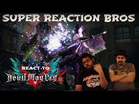 SRB Reacts to 10 Minutes of S Rank Devil May Cry 5 V Gameplay thumbnail
