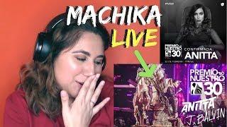 Reaction to Machika by J Balvin, Anitta & Jeon Live at Premios Lo Nuestro