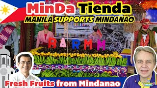 Welcome to MinDa Tienda at Kartilya Park - Fresh Fruits from Mindanao = Support Local Products