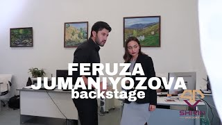 Backstage Music Video Tashkent   Sani Deb   Uzbek songs