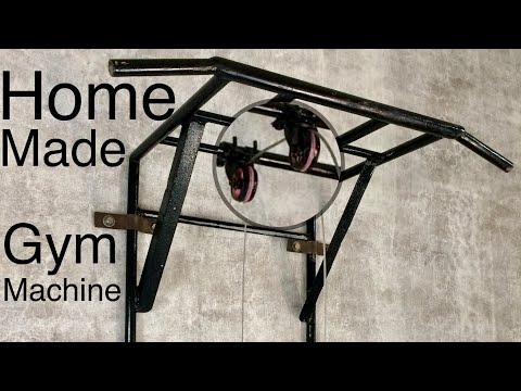 Best Homemade Workout Gym Machine For Triceps-Biceps (part 1)
