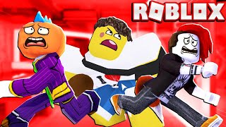 Can We Escaped From Roblox Guesty Chapter 5 In This CRAZY SCARY FACTORY With Odd Foxx