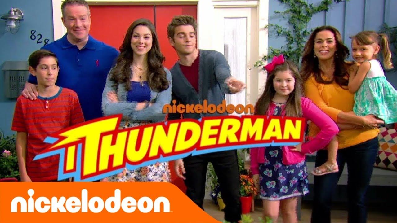 I Thunderman La Nuova Sigla Con Chloe Nickelodeon Italia Youtube