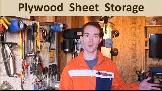 Building A Plywood Storage Shed