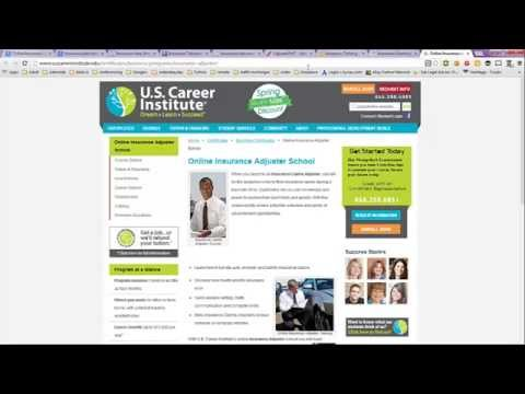 Online Insurance Classes, Training and Jobs From Home