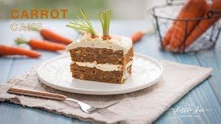 CARROT CAKE recipe - hướng dẫn công thức làm bánh Cà Rốt | The Little Jar