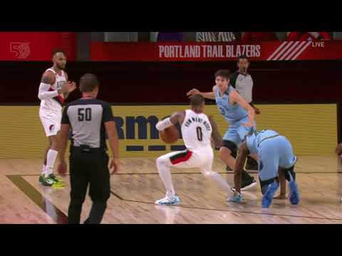 Damian Lillard & Mario Hezonja Drop Grizzlies Defenders In The Same Game
