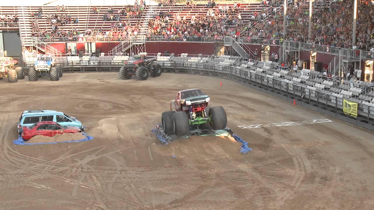 Utah County Fair Monster Truck Pt 1 2015 Youtube