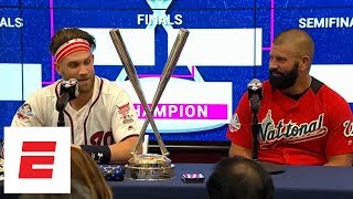 [FULL] Bryce Harper couldn't be 'more fortunate' to have his dad pitch to him in Derby win | ESPN