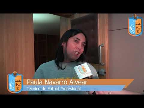 Clinica Futbol Paula Navarro