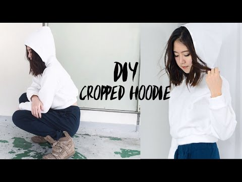 Diy Cropped Hoodie Pattern For Sale