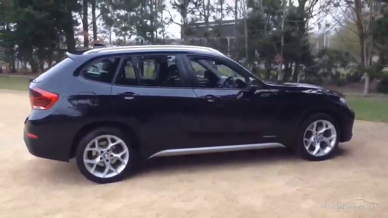 bmw x1 sdrive18d xline black 2014 youtube. Black Bedroom Furniture Sets. Home Design Ideas