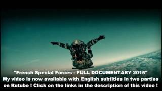 French Special Forces - FULL DOCUMENTARY 2015