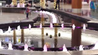 Al Ghurair Center, Dubai, United Arab Emirates - Crystal Fountains