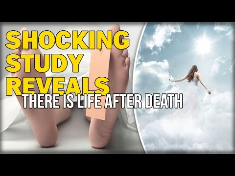 SHOCKING STUDY REVEALS THERE IS LIFE AFTER DEATH