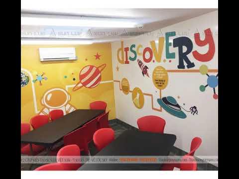 Tổng hợp +31 mẫu vẽ tranh tường văn phòng cực đẹp mới nhất 2020.