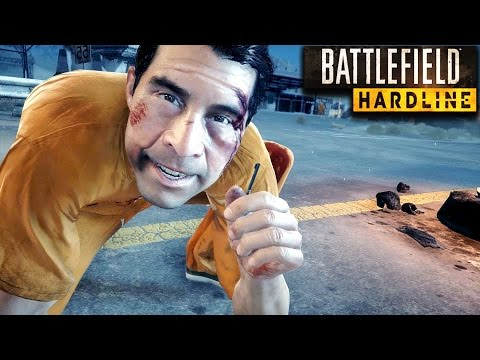 Battlefield Hardline Stealth Mission Gameplay Veteran