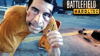 Battlefield Hardline Stealth Mission Gameplay Veteran