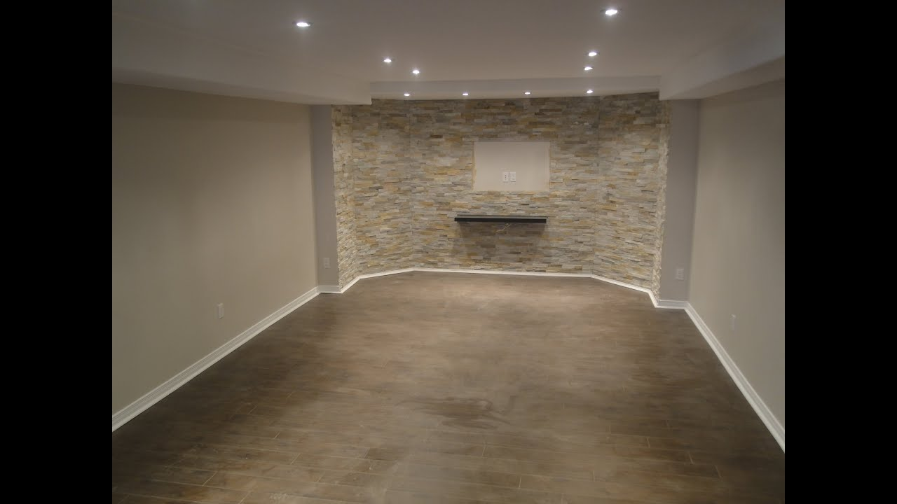 Finishing A Basement From Start To Finish