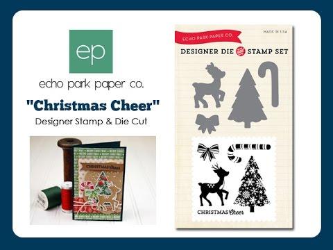 Christmas Cheer Die and Stamp Set