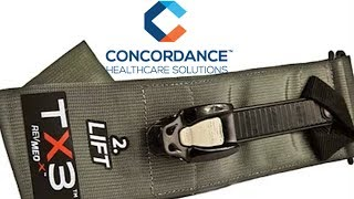 TK Belt & Wound Packing with Concordance Healthcare Solutions