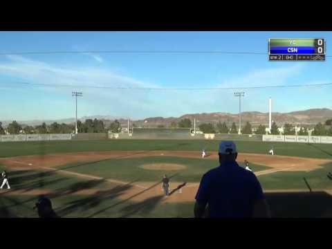 CSN BASEBALL: Yavapai College Rough Riders vs. Southern Nevada Coyotes