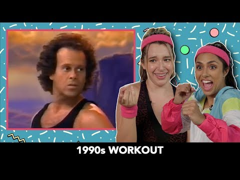 We Tried 1990s Workout Videos