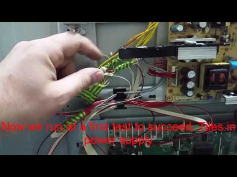 VIVAX imago LCD TV 4015   Repair This TV is the problem. Tiles power supply