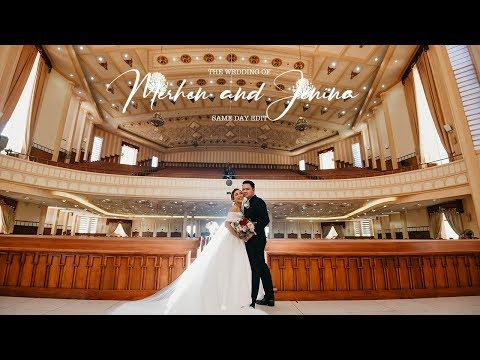 Merhen And Jenina | On Site Wedding Film By Nice Print Photography