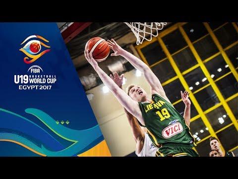 Puerto Rico v Lithuania - Full Game - FIBA U19 Basketball World Cup 2017