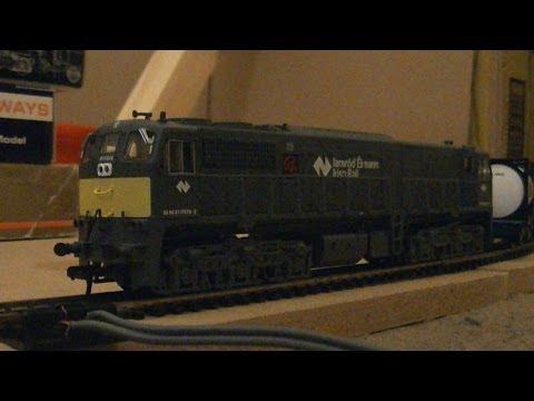 Murphy Models MM7078 GM 071 Class Diesel Locomotive 078 Iarnrod Eireann Grey (OO Gauge) Review HD