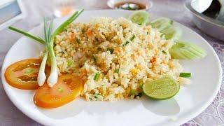 Жареный рис с курицей по китайски
