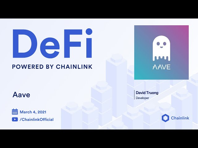 Aave and Chainlink Live Q&A: Use of Chainlink Price Feeds for Pricing and Lending Data