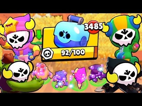 ALL BOSS LEGENDARIES MAX BETS IN BIG GAME! SO MANY BRAWL BOXES!!