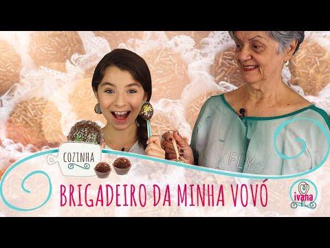 BRIGADEIRO DE MICROONDAS ft. VOVÓ YARA   IVANA COZINHA