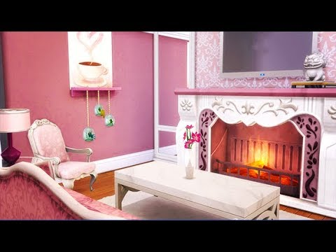 PINK BARBIE APARTMENT | THE SIMS 4 // SPEEDBUILD — 1312 21 CHIC ...