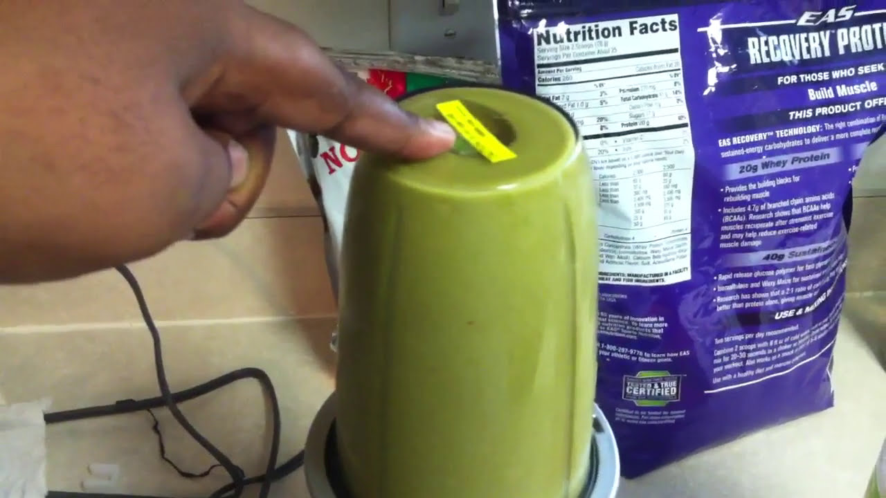 how to make green machine drink
