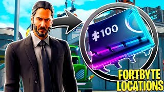 FORTNITE FORTBYTE #74 | LOCATED AT JOHN WICK'S HOUSE