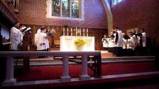 Anglican Chant Psalm 99 - Chapel Choir of Boys and Men Ensemble -- St. Paul