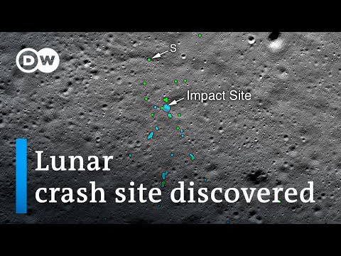 Indian amateur astronomer discovers Chandrayaan 2 Vikram moon lander crash site | DW News