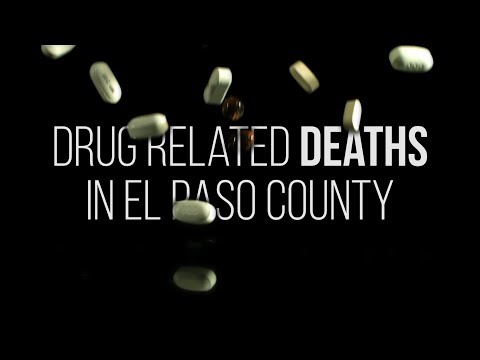 El Paso County drug deaths increase and shift in 2017
