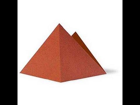 origami mountains. оригами горы.
